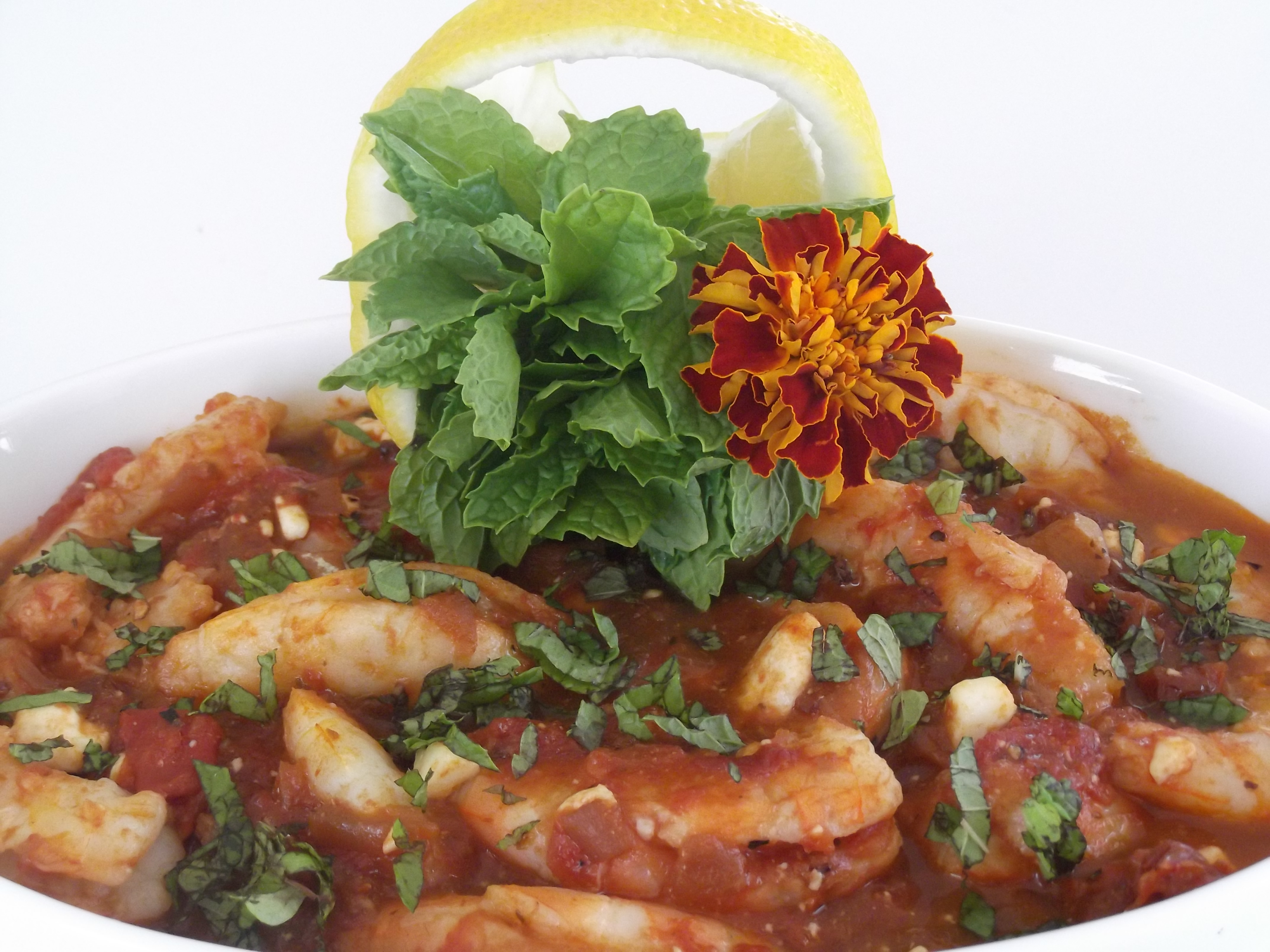 Dreaming of Santorini… Greek-style Shrimp with Tomatoes ...