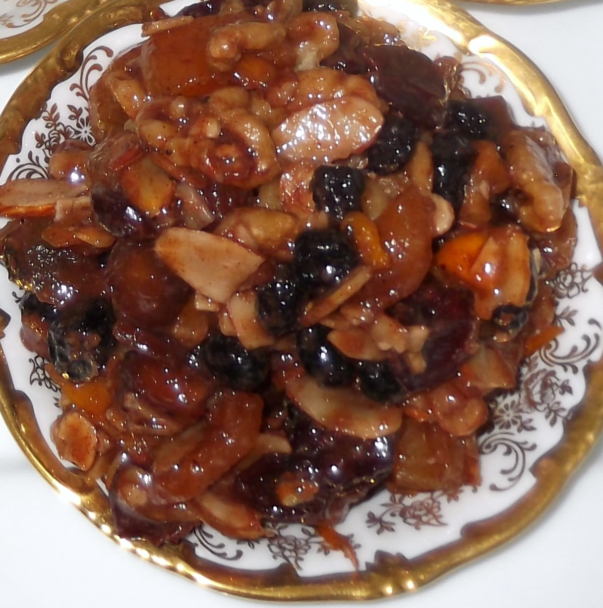 ... year at Passover, I enjoy making this charoset for my seder plate